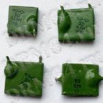 Конденсаторы КМ зеленые 5D