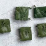 Конденсаторы КМ зеленые V