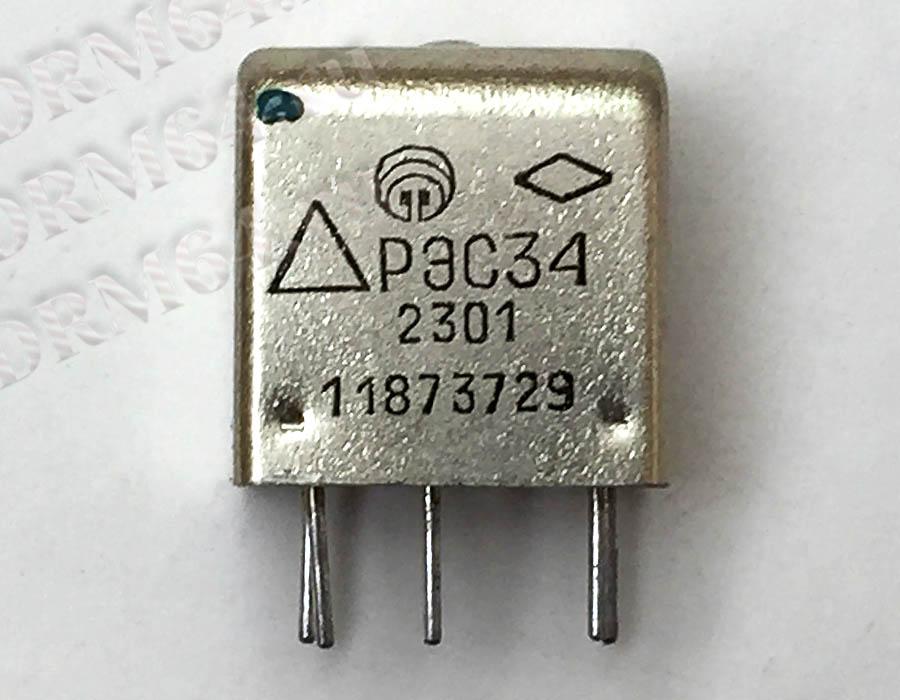 Реле РЭС-34