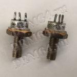 транзисторы КП 901, 903 желтое кольцо