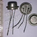 транзисторы КТ 602, 604 белые