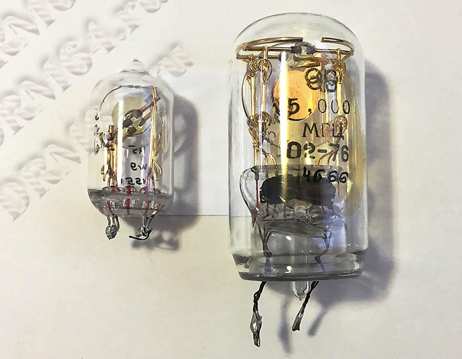Вакуумный кварц РП 5 МГц