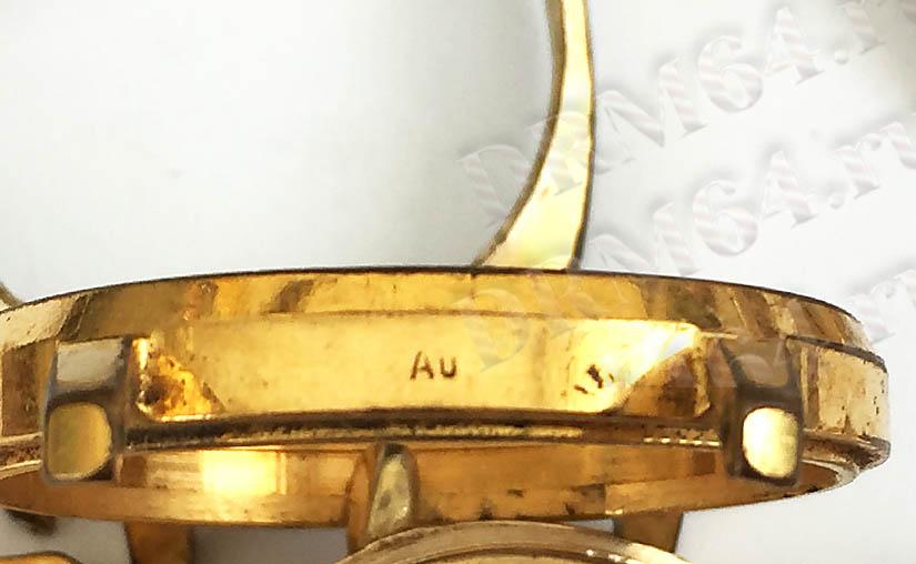 золото - Au