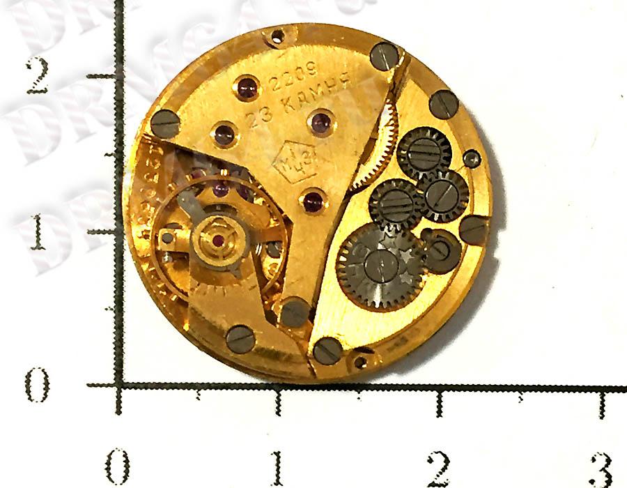Золото - часовой механизм 2209