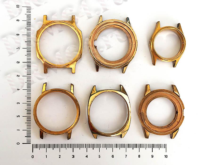 Золото Часы мужские Аu,Аu5