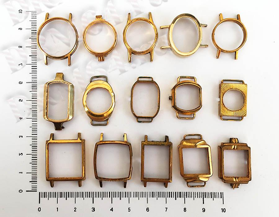 Золото - Часы женские Аu, Аu5, Аu10